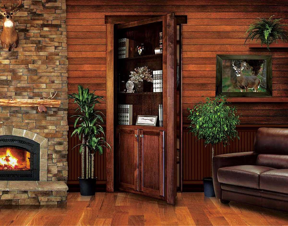 HOWDY 木製内部隠しドア