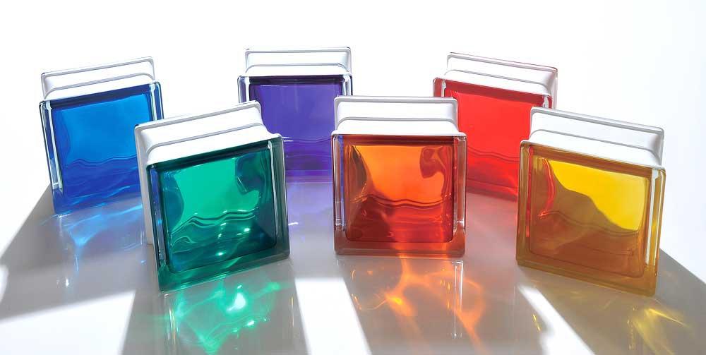 電気硝子建材 カラーガラスブロック