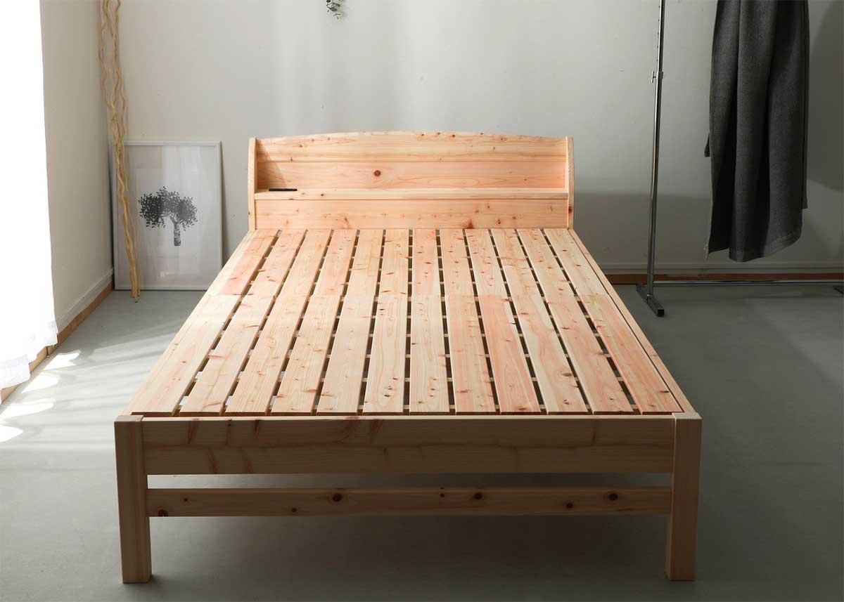 チヨダコーポレーション 棚付すのこベッド