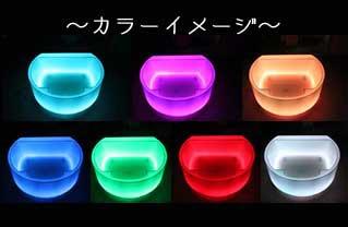 タケシタ LED照明で光る樹脂素材「HOTARU」