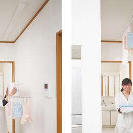 花粉症対策の必須アイテム室内干しユニット【第1回/全4回】