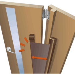 とっておきプライベート空間の入り口!デザイン室内ドア