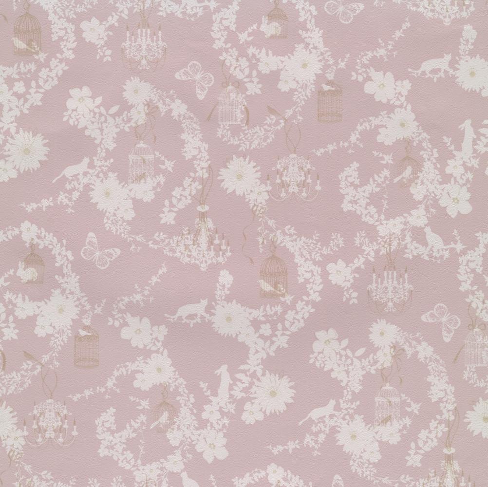 デザイナーズ壁紙 ホラグチ カヨ Twp2171 花 植物 動物柄 トキワ