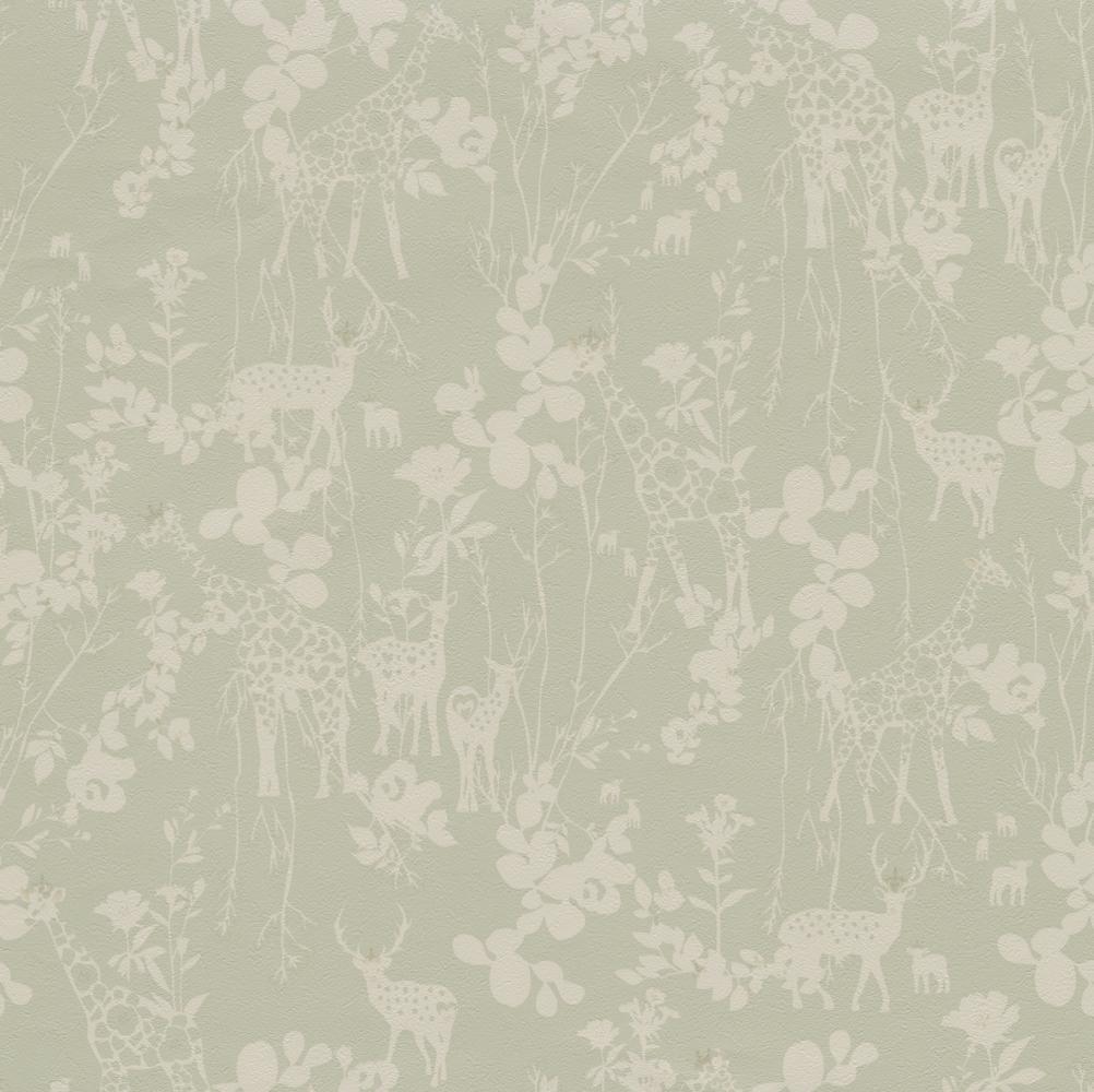 デザイナーズ壁紙 ホラグチ カヨ Twp2172 花 植物 動物柄 トキワ