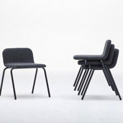 bellacontte「spine chair スパインチェア」W507×D505×H639mm